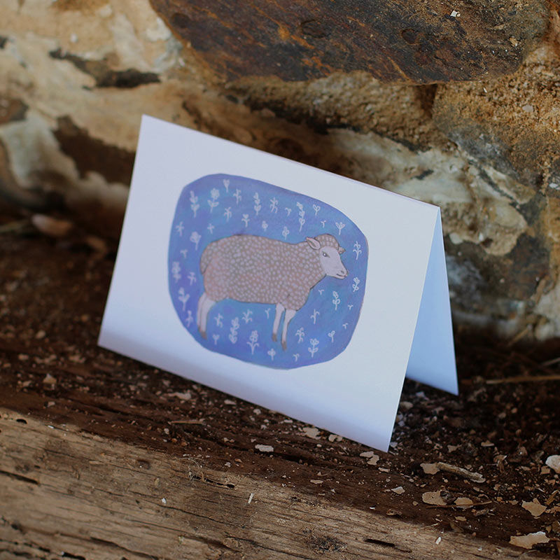 Beautiful Sheep Animated Notecard