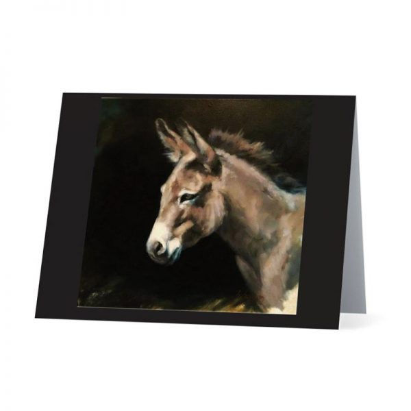 Chenoa Greeting Card Giuseppe the Donkey