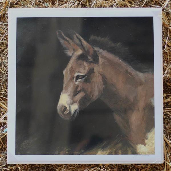 Severson Print Giuseppe the Donkey