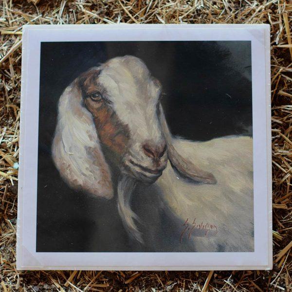 Severson Print Shiva the Goat